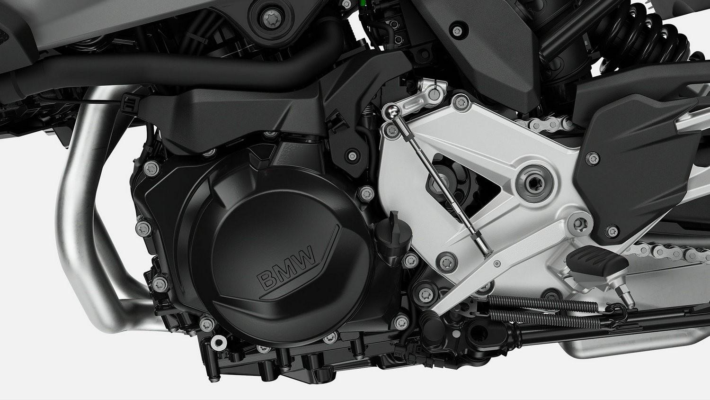 Двоциліндровий рядний двигун.