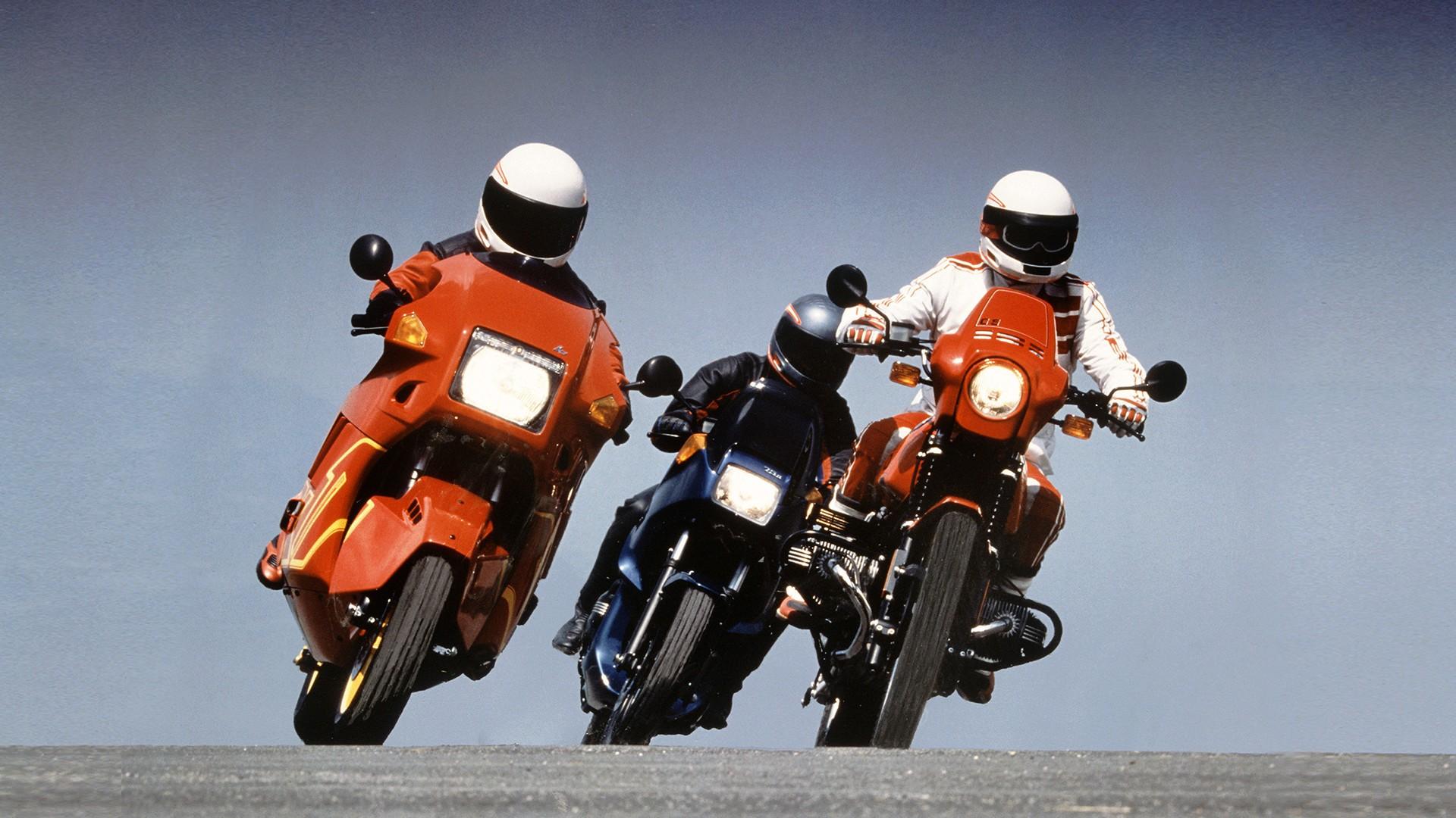 1995 рік - 100 000 мотоциклів BMW з ABS