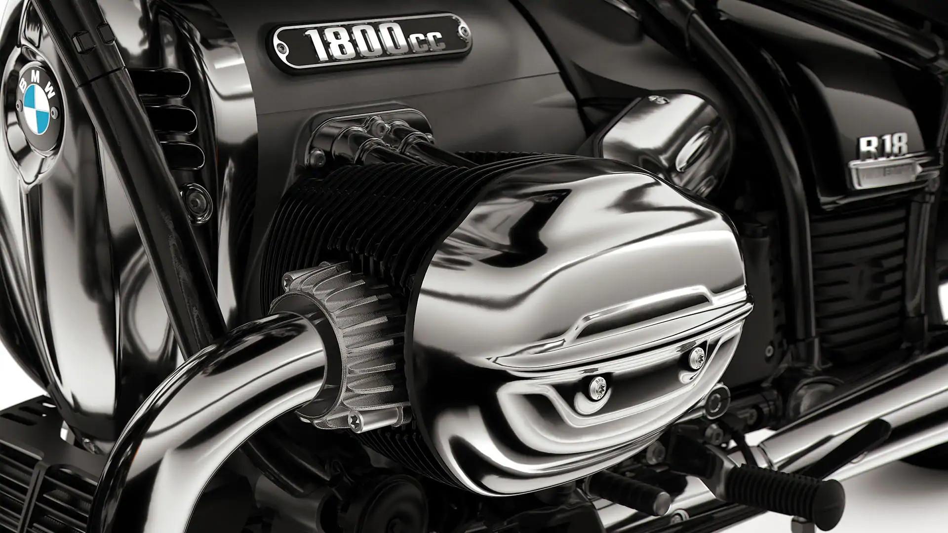 Опозитний двигун зі штанговим приводом клапанів